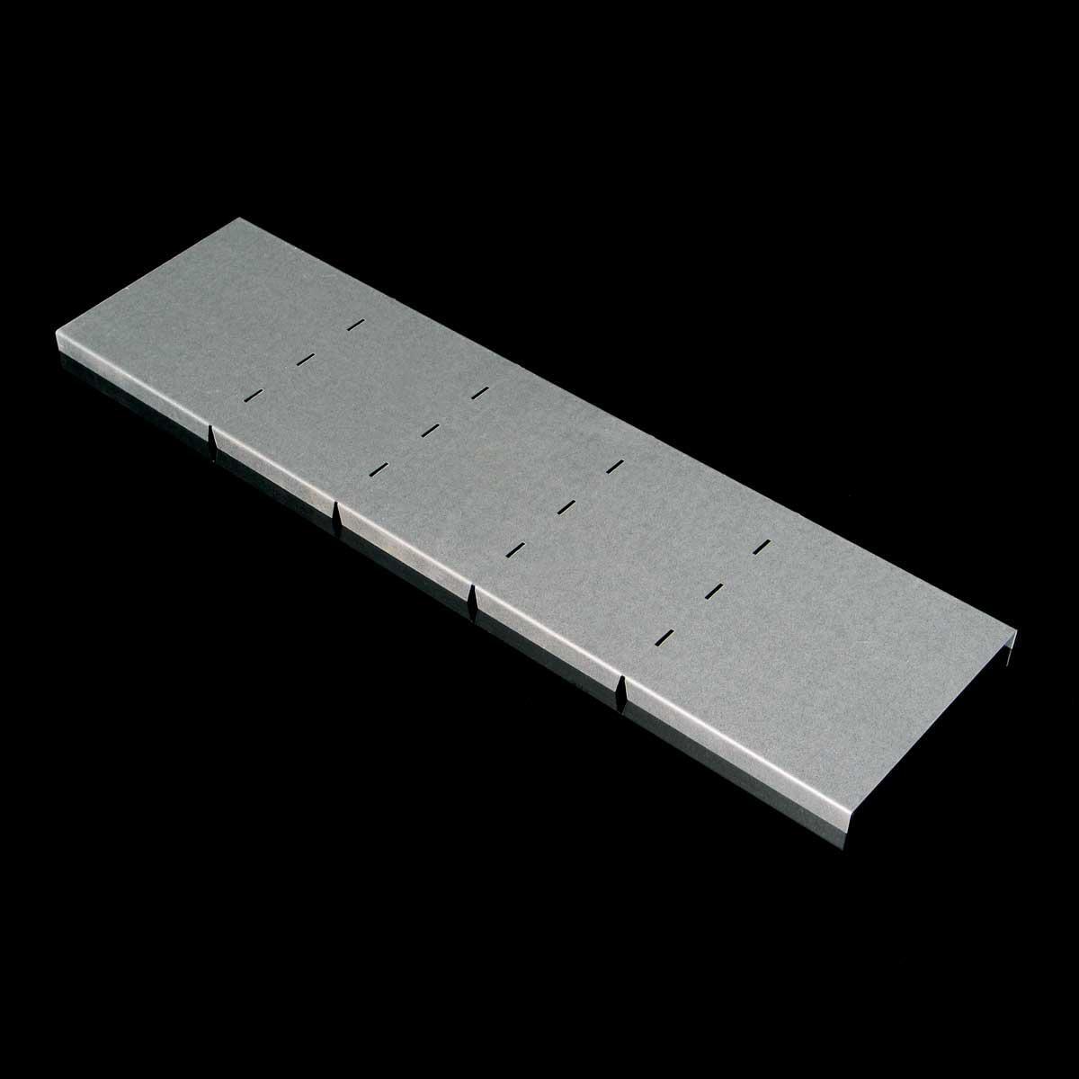 Кришка вертикального повороту зовнішнього 90° JUPITER; розміри-85x500x270mm Товщ. метал-1мм Вага-1,95кг/м