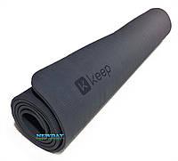 """Коврик для йоги и фитнеса """"KEEP""""  1830х800х6мм"""