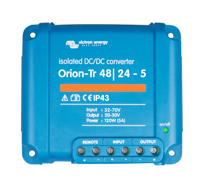 Конвертор Orion-Tr 48/24V 5A (120W)