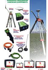 GPS системы для выравнивания участка земли в сельском хозяйстве, фото 3