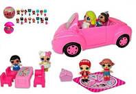 Набор с куклами  LOL ТМ 853С автомобиль,куклы,шар-сюрприз.
