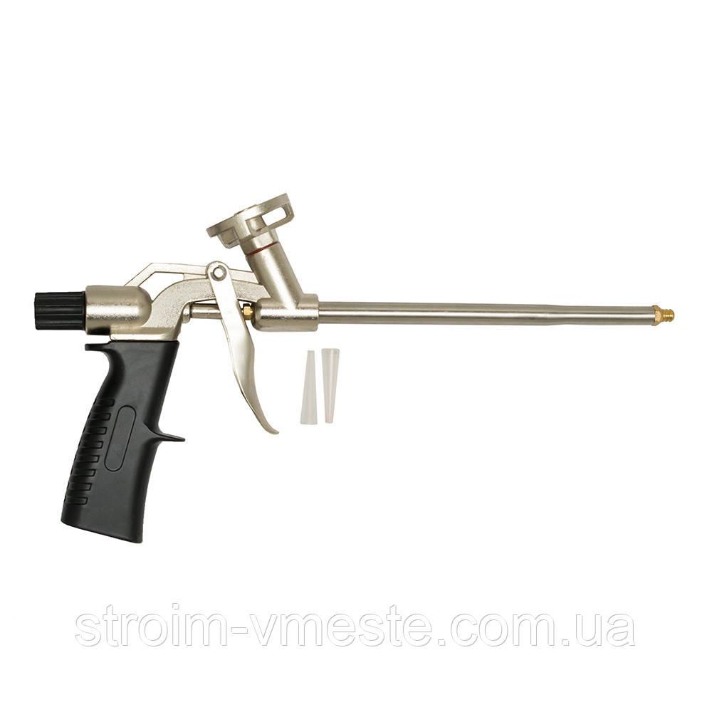 Пистолет для монтажной пены АТЛАНТ А-0101 34 см черный