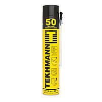 Пена монтажная полиуретановая TEKHMANN 750 мл x 50 л ручная
