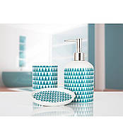 Комплект в ванную Irya - Nova green зеленый (3 предмета)
