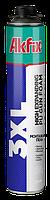 Пена монтажная профессиональная AKFIX 3XL 850 мл x 65 л