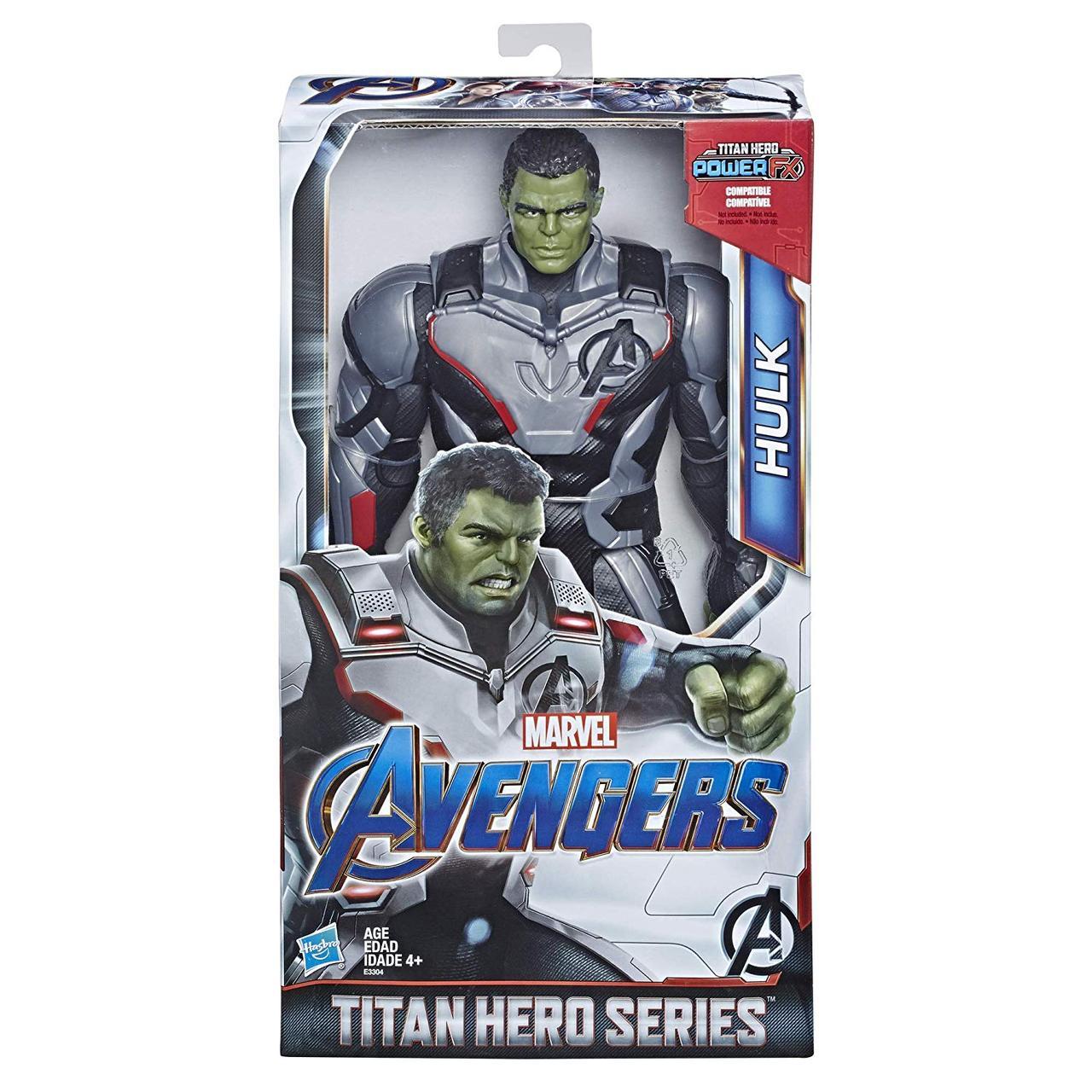 """Фігурка Халк """"Месники: Фінал"""" - Hulk Titan Hasbro Hero 30 см"""