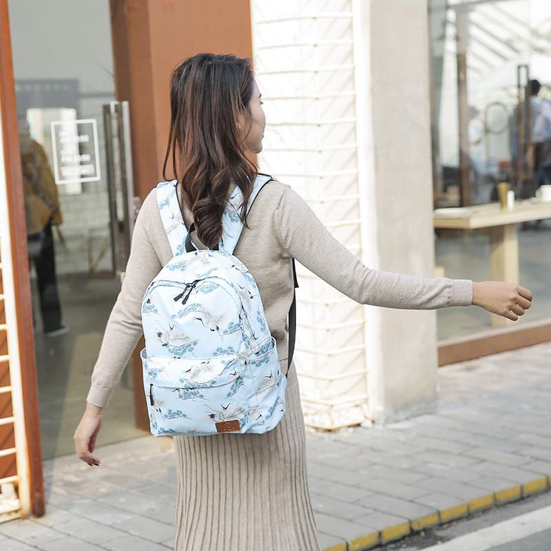 Рюкзак с изображением журавлей