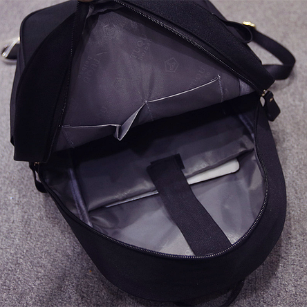 Школьный рюкзак с блестящими ушками, фото 2