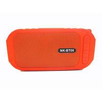 Водонепроницаемая bluetooth колонка MP3 BT06 Red, фото 1