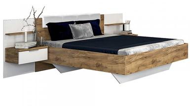 Кровать 1,6х2,0 с тумбами без каркаса Асти ТМ Миро Марк