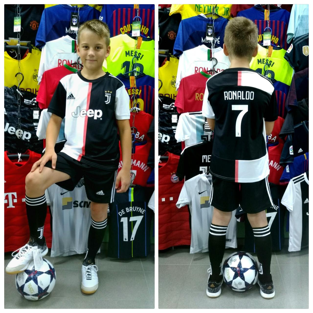 Детская футбольная форма ФК Ювентус Роналдо 2019-2020г