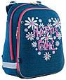 556030 Каркасный школьный рюкзак Yes H-12 Happy girl  29*38*15, фото 2