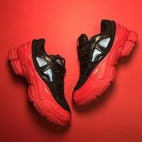 Adidas Raf Simons Red Black
