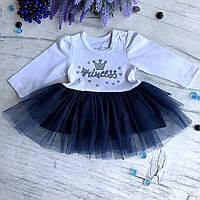 Легкое детские платье Breeze 99. Размер 86 (1.5года), фото 1
