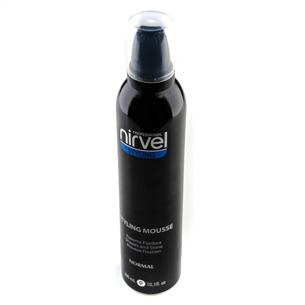 Мусс для укладки вьющихся волос натуральной фиксации Nirvel Fx Mousse curly hair 300 мл 6301