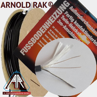 Двужильный нагревательный кабель Arnold Rak SIPC 6114-30