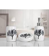 Комплект в ванную Irya - Vanda white белый (3 предмета)