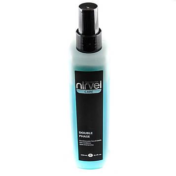Двухфазный несмываемый спрей-кондиционер  термозащита для волос  Нирвел Nirvel Double fase 200 мл 6900