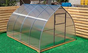 Арочная Теплица Капелька Nk Plast (300х400х200 см) Сотовый Поликарбонат 4 мм