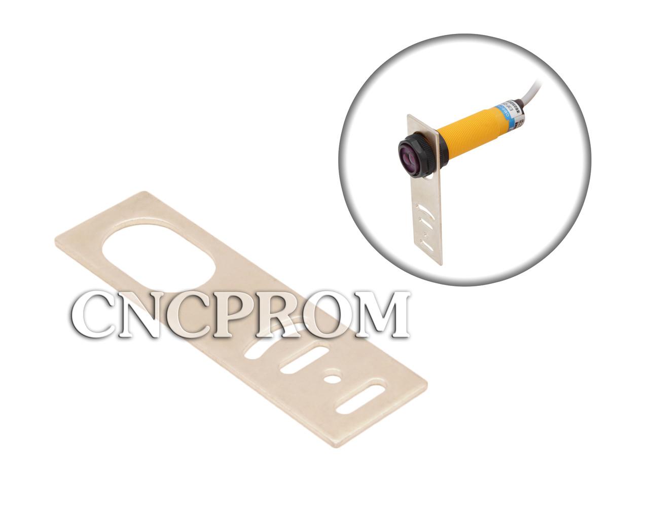 Кронштейн для крепления цилиндрического датчика с резьбой М18 (прямой)