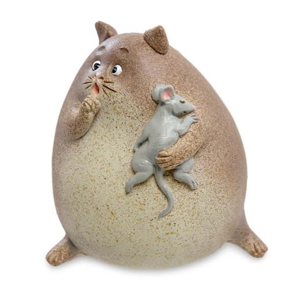 Статуэтка Кот с мышкой ED-426