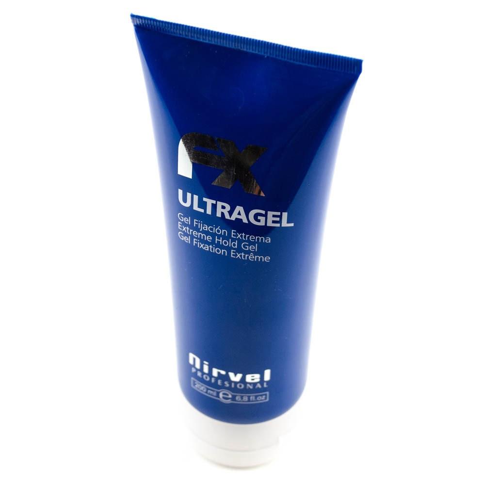 Гель для укладки волос экстра-сильной фиксации Нирвел Nirvel Fx Ultragel 200мл 8429