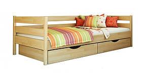 Детская Кровать Нота 80х190 Бук Щит 102 (Эстелла-ТМ)