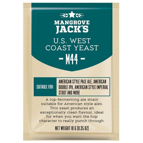 Пивные дрожжи MANGROVE JACK'S CS YEAST M44 US WEST COAST