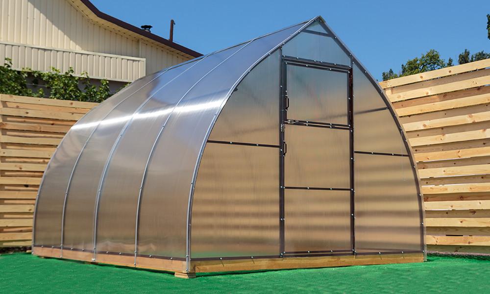 Арочная Теплица Капелька Nk Plast (300х1000х200 см) Сотовый Поликарбонат 4 мм