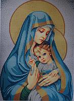 """Схема для вишивки бісером """"Мадонна з дитиною"""" М-1045"""