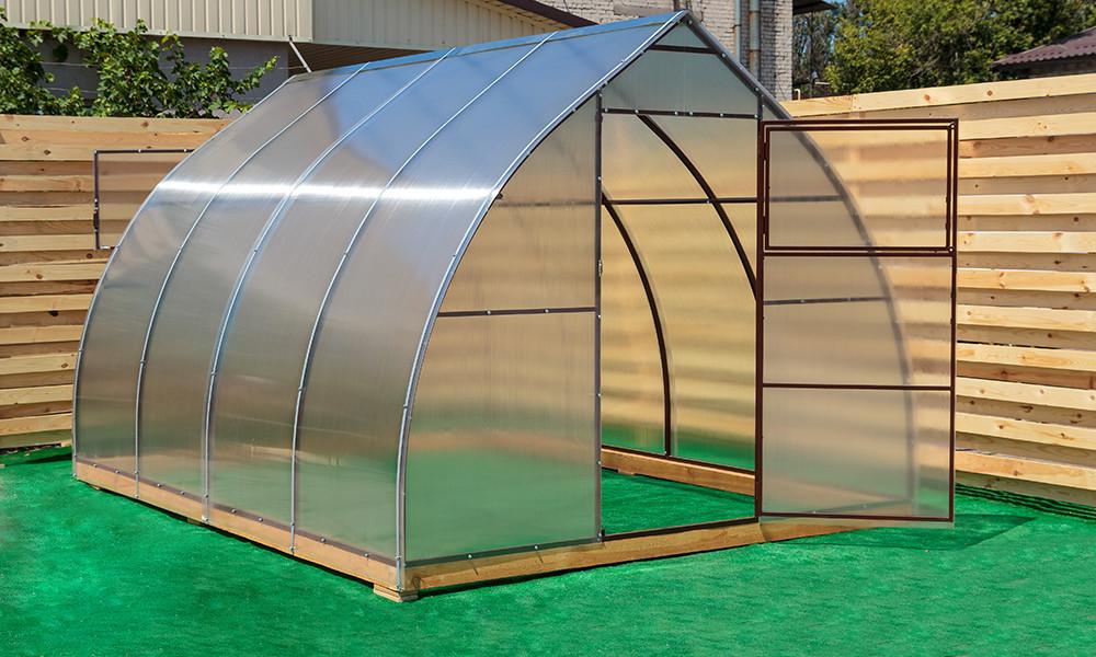 Арочная Теплица Капелька Nk Plast (300х1200х200 см) Сотовый Поликарбонат 4 мм