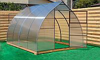 Арочная Теплица Капелька Nk Plast (300х1200х200 см) Сотовый Поликарбонат 4 мм, фото 1