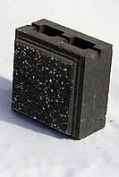 Блок декоративный простенный  для забора 190х190х90