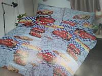 Хлопковые полуторные детские комплекты., фото 1
