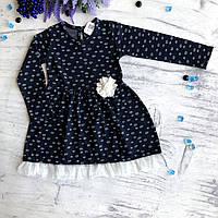 Теплое детское платье Breeze 1. Размер 116см (6лет), фото 1