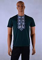 """Чоловіча футболка вишиванка """"Остап"""", фото 1"""