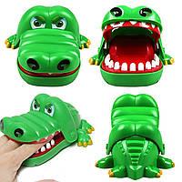Игра детская настольная «Крокодил-дантист»