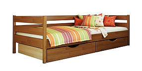 Детская Кровать Нота 80х190 Бук Щит 103 (Эстелла-ТМ)