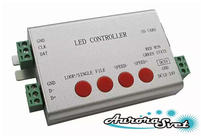 Контроллер управления пикселями цифровыми светодиодными YM-801SB (Pixel control)