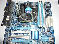 Материнская плата GigaByte GA-H55M-USB3+ Процессор Intel Core i3-530
