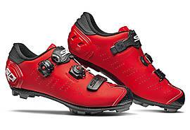 Велотуфлі МТБ Sidi Dracon 5 SRS Matt Black Red