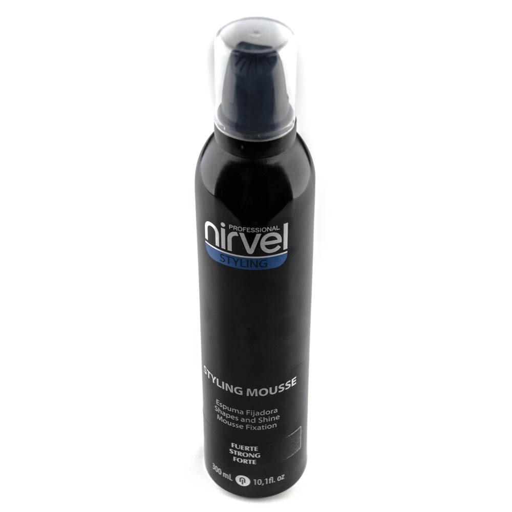 Мус для укладання волосся сильної фіксації Nirvel Fx Mousse strong 300 мл 6302