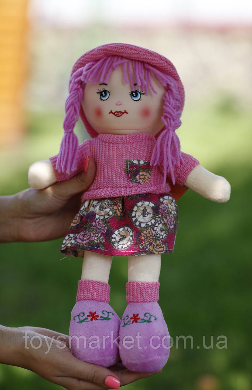 """Мягкая кукла """"Лика"""", плюшевая кукла, куколка"""