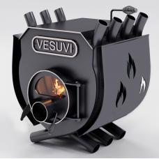 Піч опалювальна Булерьян VESUVI з варильною поверхнею (скло + перфорація) до 125 м3