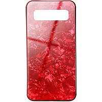TPU+Glass чехол Shell для Samsung Galaxy S10+ Красный