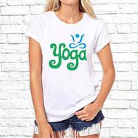 """Женская футболка Push IT с принтом """"Yoga"""""""