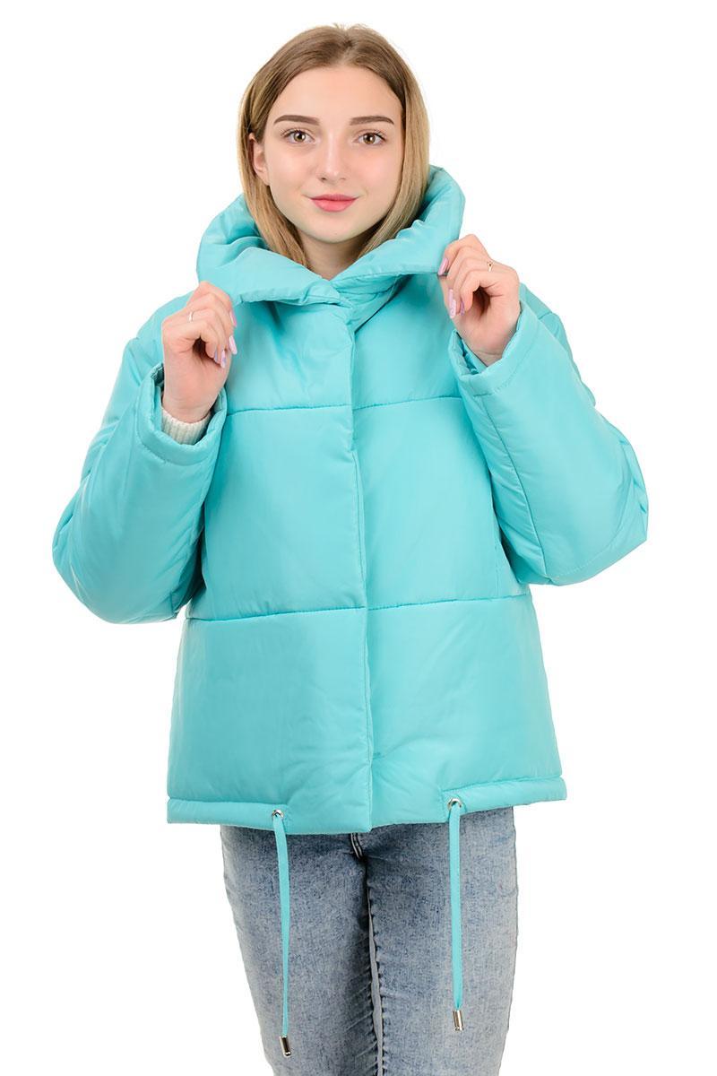 Женская куртка-одеяло Марго (мята)