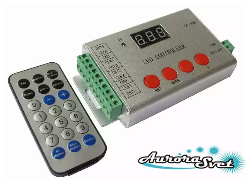 Контроллер управления пикселями цифровыми светодиодными YM-802SE (Pixel control)