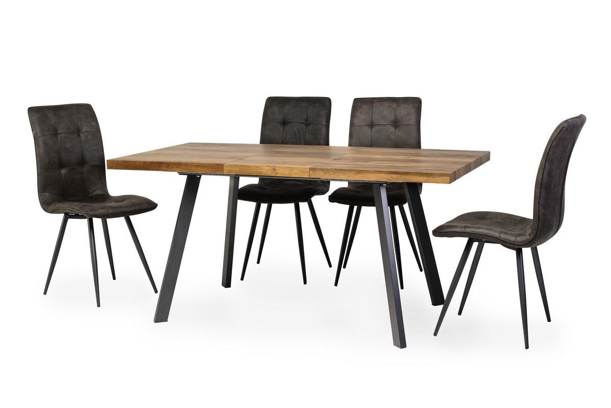 Обеденный стол TM-160 омбре 120/160 от Vetro Mebel