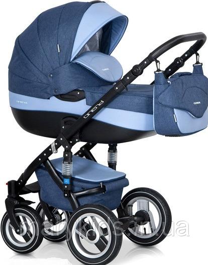 Детская универсальная коляска 2 в 1 Riko Brano 02 Denim